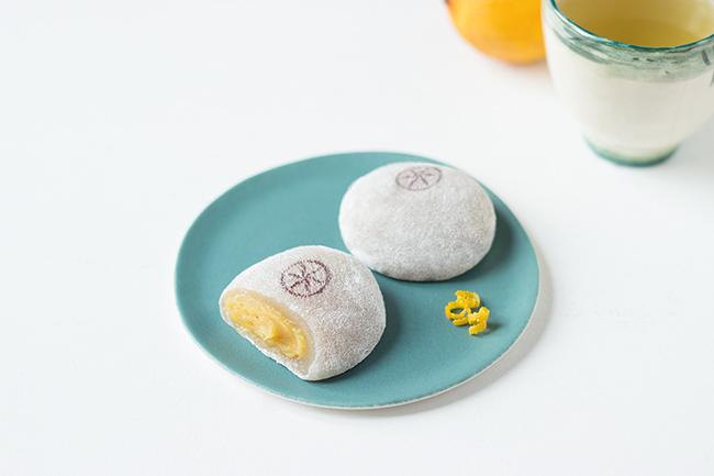 Mochi parfumé à la bergamote