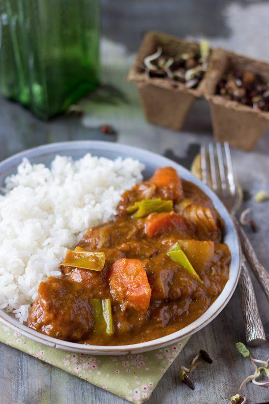 curry à la japonaise